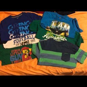 Lot of 6 boys T-shirts